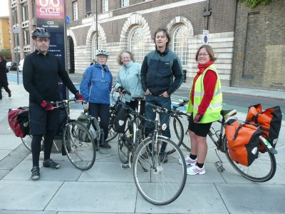 Jenny Jones meets Tower Hamlets Wheelers