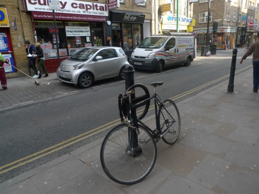 CycleHoops at Brick Lane