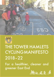 Tower Hamlets Cycling Manifesto 2018-2022