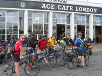 Ace Cafe ride